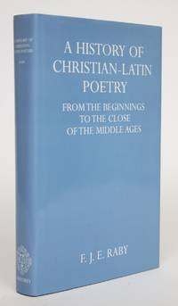 image of A History of Christian-Latin Poetry Fromt he Beginnings to the Close of The Middle Ages
