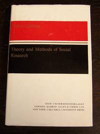 Theory and Methods of Social Research