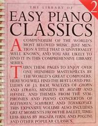 The Library of Easy Piano Classics 2 (Library of Series)