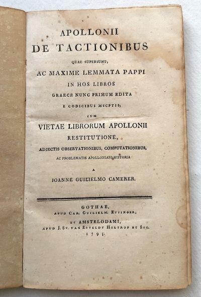APOLLONII DE TACTIONIBUS