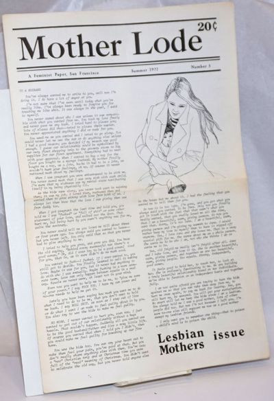 San Francisco: Mother Lode Collective, 1972. Newspaper. folded tabloid newspaper format, newsprint, ...