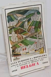 Belgica; Guia Turistica y Hotelera  1929