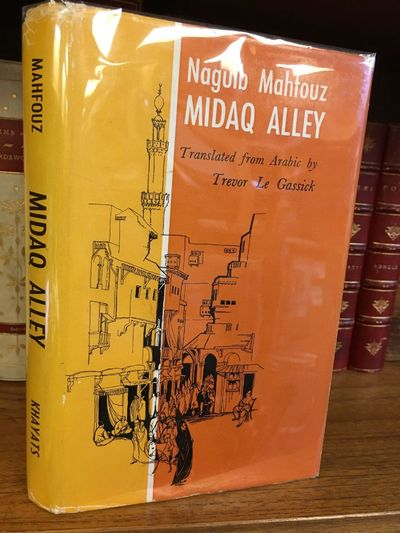 Beirut: Khayats, 1966. First English Edition. Hardcover. Octavo, 319 pages; VG/VG; spine yellow with...