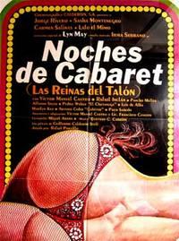 Noches de cabaret. Con Víctor Manuel Castro, Arturo Cobo,  Luis de Alba, Eduardo de la Peña. (Cartel de la película)