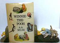 WINNIE-THE-POOH; With colour illustrations by E. H. Shepard by  A. A Milne - First Book Club Associates Edition - 1977 - from Borg Antiquarian (SKU: 1297)