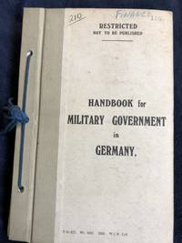 Handbook for Military Government in Germany