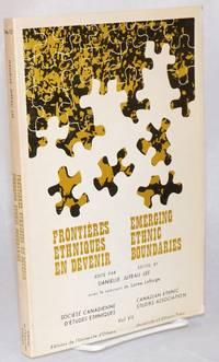 Emerging ethnic boundaries / Frontieres ethniques en devenir