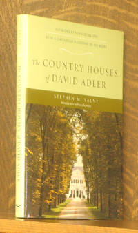 THE COUNTRY HOUSES OF DAVID ADLER, INTERIORS BY FRANCES ELKINS WITH A CATLOGUE RAISONNE OF HIS WORK