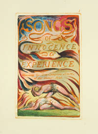 Songs of Innocence and of Experience, Plate 1: Title Page.