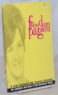 image of Freedom Pages: a free business & service directory for Lesbians & Gays of the Delaware Valley 1995