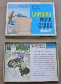Ladybird Work Cards - Part Set - 40 Cards - English Comprhension and Study - First Set / Box 1 by Wills and Hepworth - First Edition - from Laura Books (SKU: 022545)