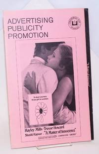 Advertising Publicity Promotion: A Matter of Innocence. A Universal release [pressbook]