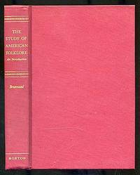 image of The Study of American Folklore