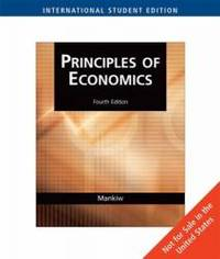image of Principles of Economics - International Student Edition
