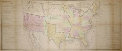map of the united states showing boundaries after the treaty of guadalupe hidalgo