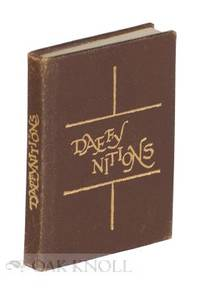 Skokie, IL: Black Cat Press, 1977. leather, title gilt-stamped on spine and cover. Miniature Books. ...