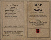 Napa County California. 1914