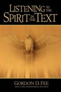 image of Listening to the Spirit in the Text