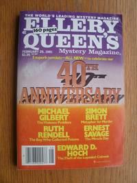 Ellery Queen's Mystery Magazine February 25, 1981