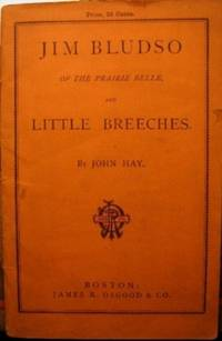 JIM BLEDSO OF THE PRAIRIE BELLE, AND LITTLE BREECHES