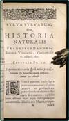 View Image 3 of 3 for Sylva sylvarum, sive historia naturalis, in decem centurias distributa. Inventory #30360