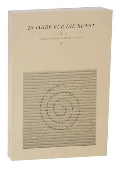 Mainz, Germany: Dorothea van der Koelen, 1999. First edition. Softcover. Exhibition catalog for a gr...