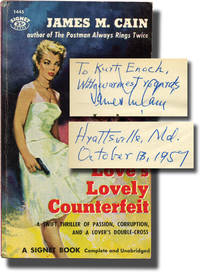 image of Love's Lovely Counterfeit (First Edition in paperback, inscribed to Signet Books founder Kurt Enoch)