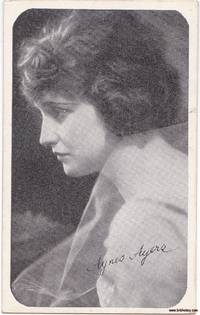 image of Kromo Gravure Trading Card Rounded Borders Silent Screen Star Agnes Ayres