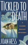 image of TICKLED TO DEATH: A Claire Malloy Mystery.