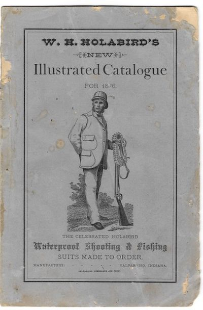 Valparaiso, IN: W.H. Holabird, 1876. Sale catalogue. 8vo. 16 pp. Illustrated from wood engravings; a...