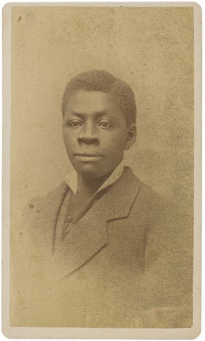 Carte-de-Visite Portrait of Former...