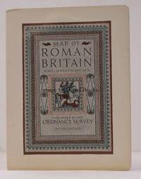 image of Map of Roman Britain (Third Edition). Scale: Sixteen Miles to One Inch.