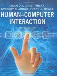Human-Computer Interaction (3rd Edition) by Alan Dix - Hardcover - 2003-04-07 - from Books Express (SKU: 0130461091n)