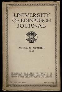 image of University of Edinburgh Journal Autumn Number 1947