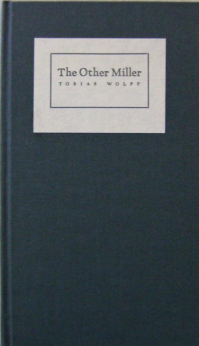 Derry & Ridgewood: Babcock & Koontz, 1986. First edition. Cloth. Fine. 8v0. 17 pp chapbook. A single...