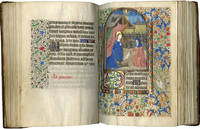 Book of Hours (Use of Paris); in Latin and French, illuminated manuscript on parchment