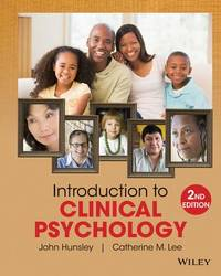 Introduction to Clinical Psychology : An Evidence-Based Approach