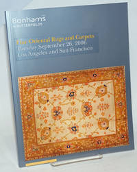 image of Bonhams_Butterfields. Fine Oriental Rugs and Carpets, Tuesday October 10, 2006; Simulcast sale, Los Angeles and San Francisco