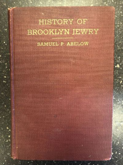 New York: Scheba Publishing Company, 1937. First Edition. Hardcover. Octavo, 344 pages; G+; fully bo...