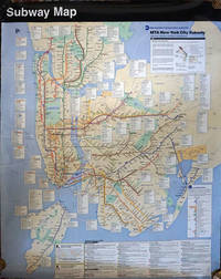 image of Subway Map. MTA New York City Subway with bus, railroad and ferry connections