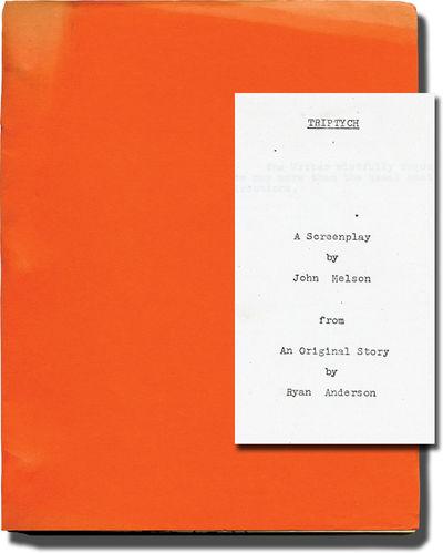 Madrid, Spain: The Monovox Company, 1972. Draft script for an unproduced film. A mysterious man posi...