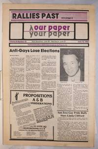 image of Our Paper, Your Paper; the gay family paper of the Santa Clara Valley; vol. 3, #12, June 13, 1984