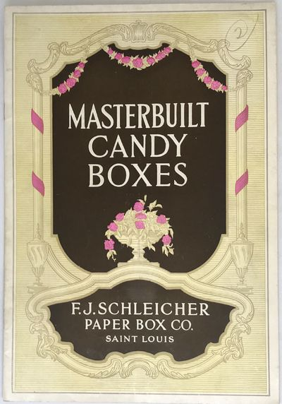 St. Louis, MO: F. J. Schleicher Paper Box Co.. Staplebound. Color illustrated, embossed wraps. . 12 ...