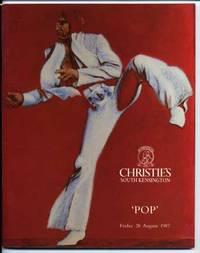 Christie's Pop Aug 1987 Auction Catalogue