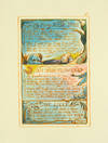View Image 1 of 2 for Songs of Innocence and of Experience, Plate 43: My Pretty Rose Tree; Ah! Sun-Flower; The Lilly. Inventory #124116