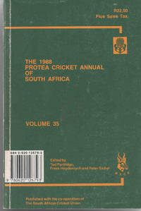 Protea Cricket Annual of South Africa 1988 (Volume 35)