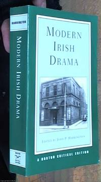 image of Modern Irish Drama; A Norton Critical Edition