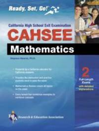 CAHSEE Mathematics Test (California CAHSEE Test Preparation)