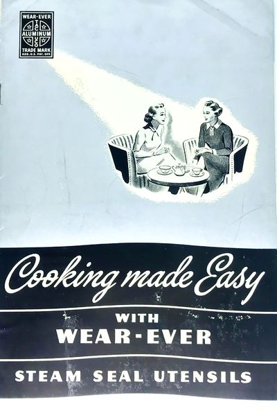 New Kensington, PA: The Aluminum Cooking Utensil Company, c. 1937. Staplebound. Silver illustrated w...