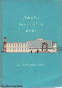 Judisches Gemeindehaus Berlin